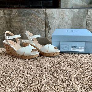 Prada Calzature Donna Wedge shoes sz 39.5